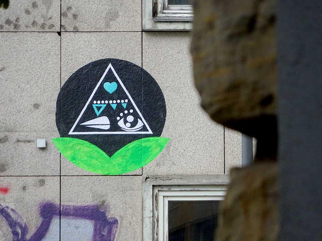 Thierry Jaspart Streetart in Frankfurt