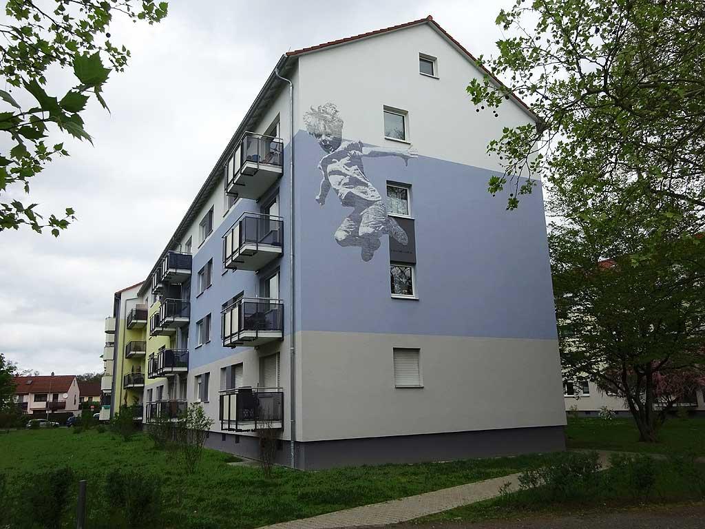Wandkunst von Thomas Stolz in Frankfurt Stolz