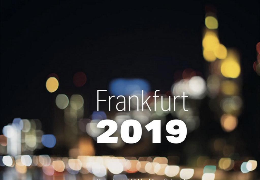 #timelapseFFM - Tischkalender Frankfurt 2019