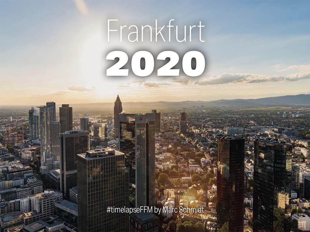 Tischkalender Frankfurt 2020