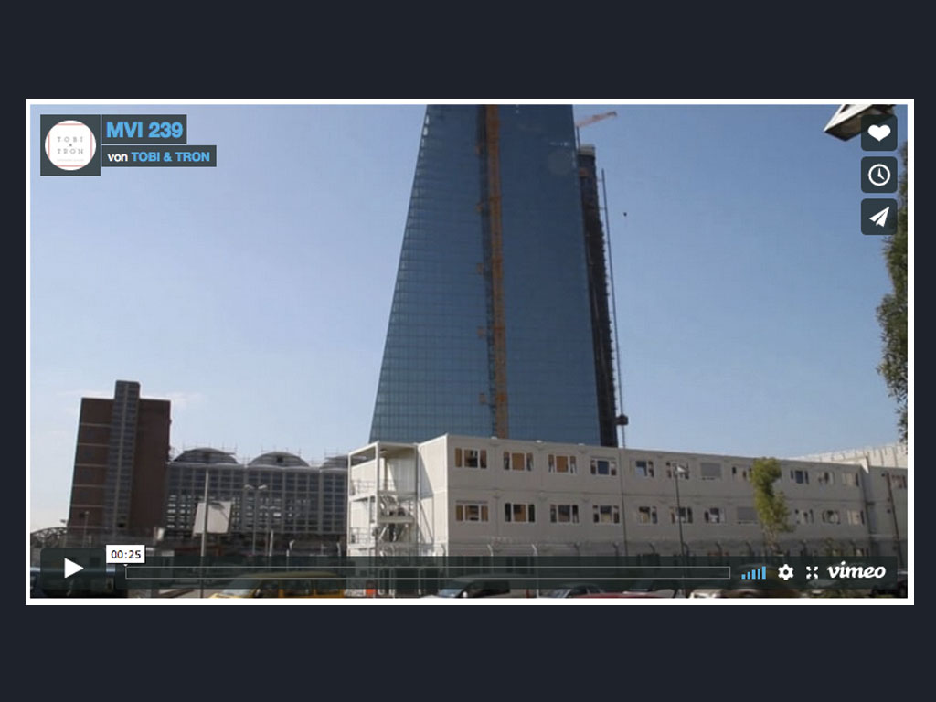 Tobi & Tron - EZB-Video