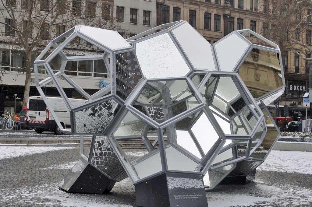 Tomas Saraceno - Kunst im öffentlichen Raum in Frankfurt am Main