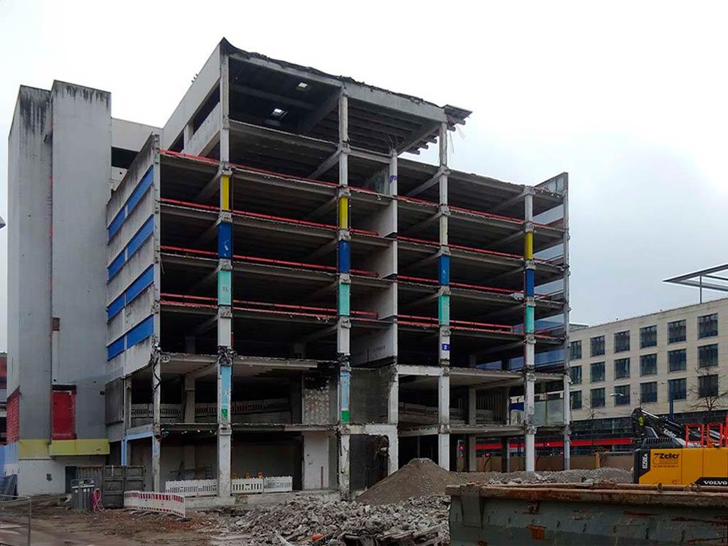 Toys'R'Us-Baustelle am Marktplatz in Offenbach