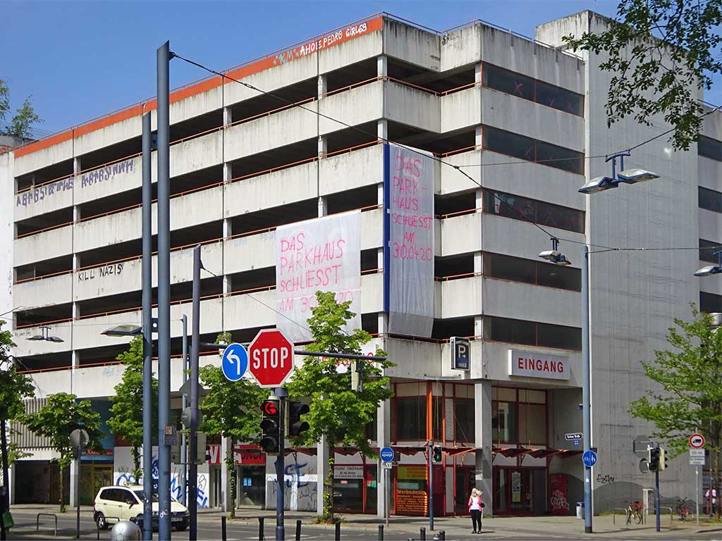 Toys R Us Parkhaus in Offenbach
