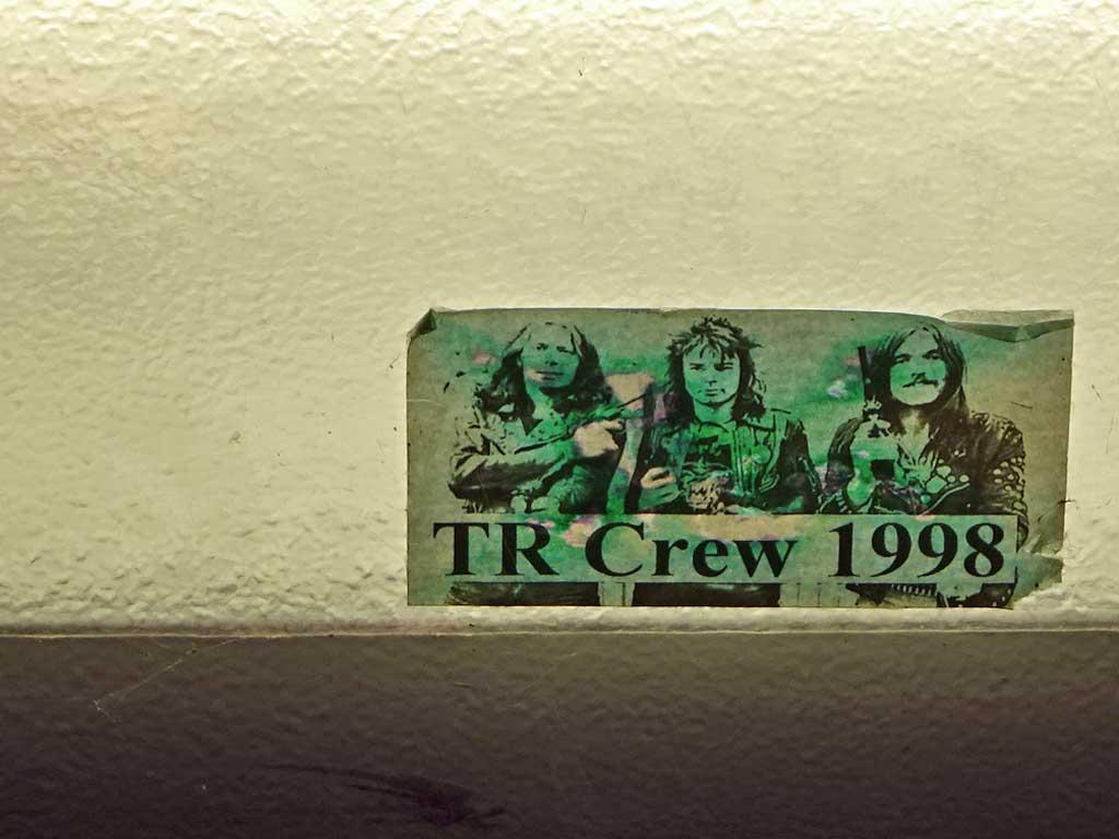 Aufkleber der TR Crew