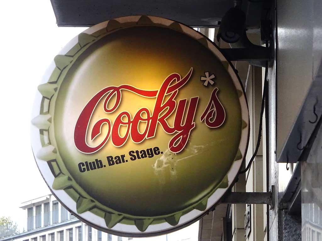 Typografie in Frankfurt - Cooky's