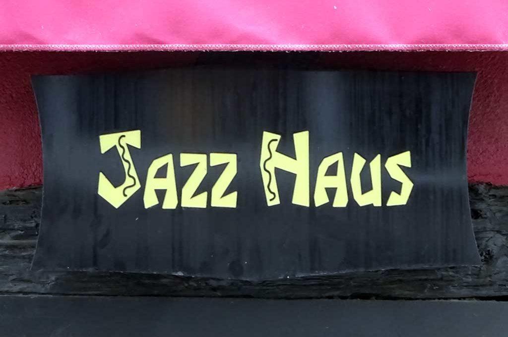 Typografie in Frankfurt - Jazz Haus