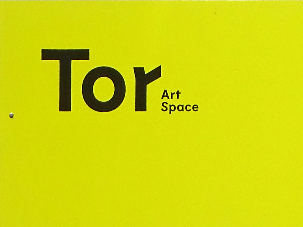Typografie in Frankfurt - Tor Art Space