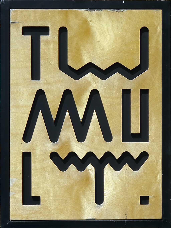 Typografie in Frankfurt - Tumult