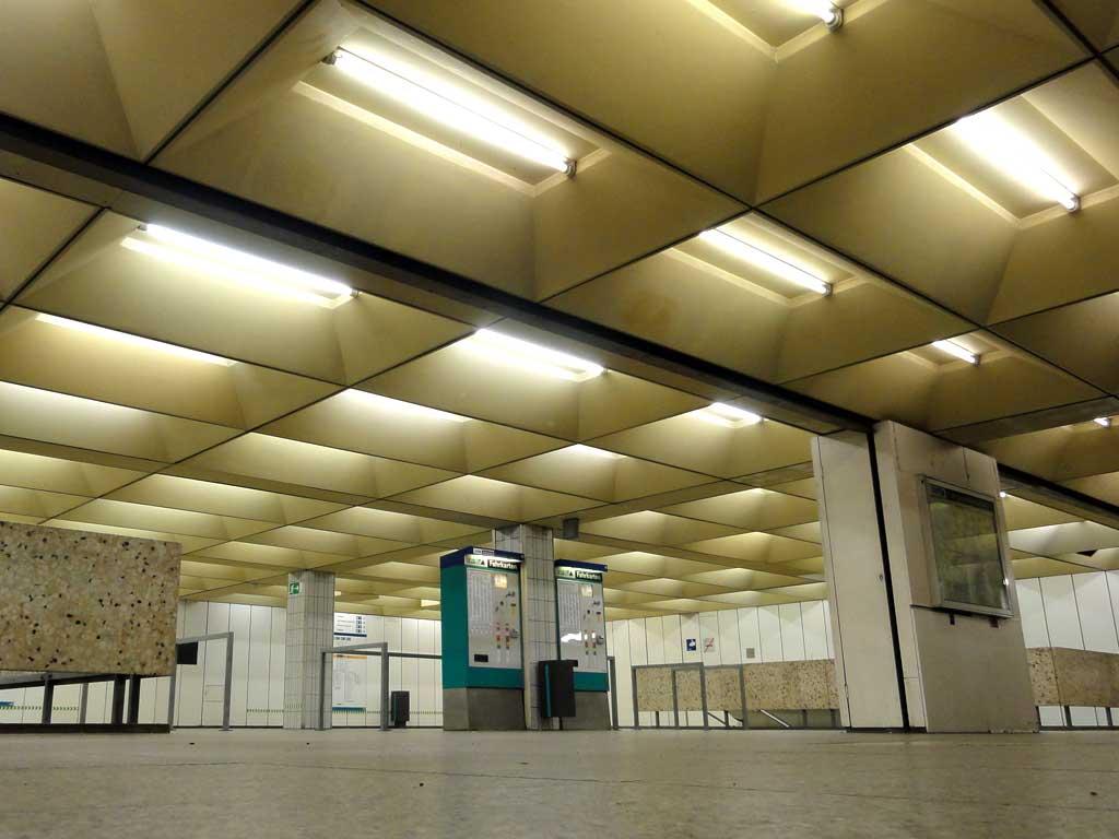 U-Bahn-Unterführung Miquel/Adickesallee in Frankfurt
