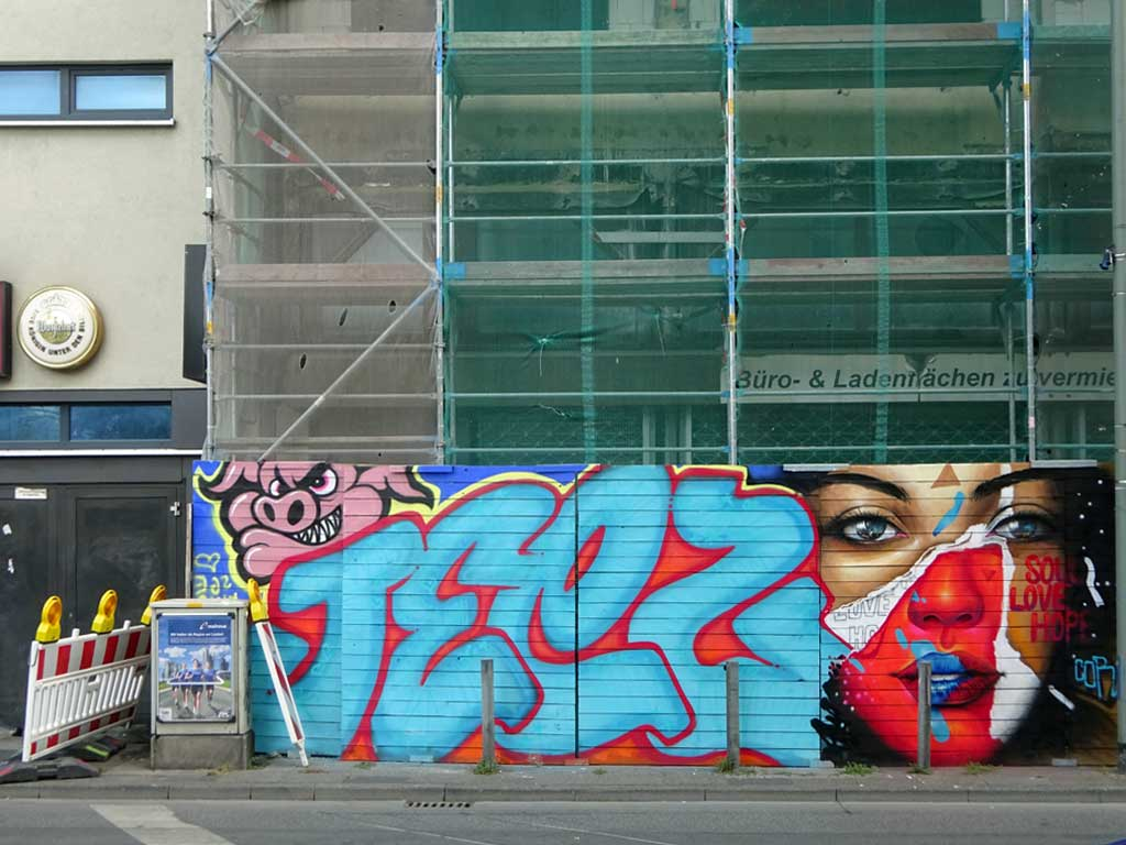 Urban Art im Bahnhofsviertel von Frankfurt am Main