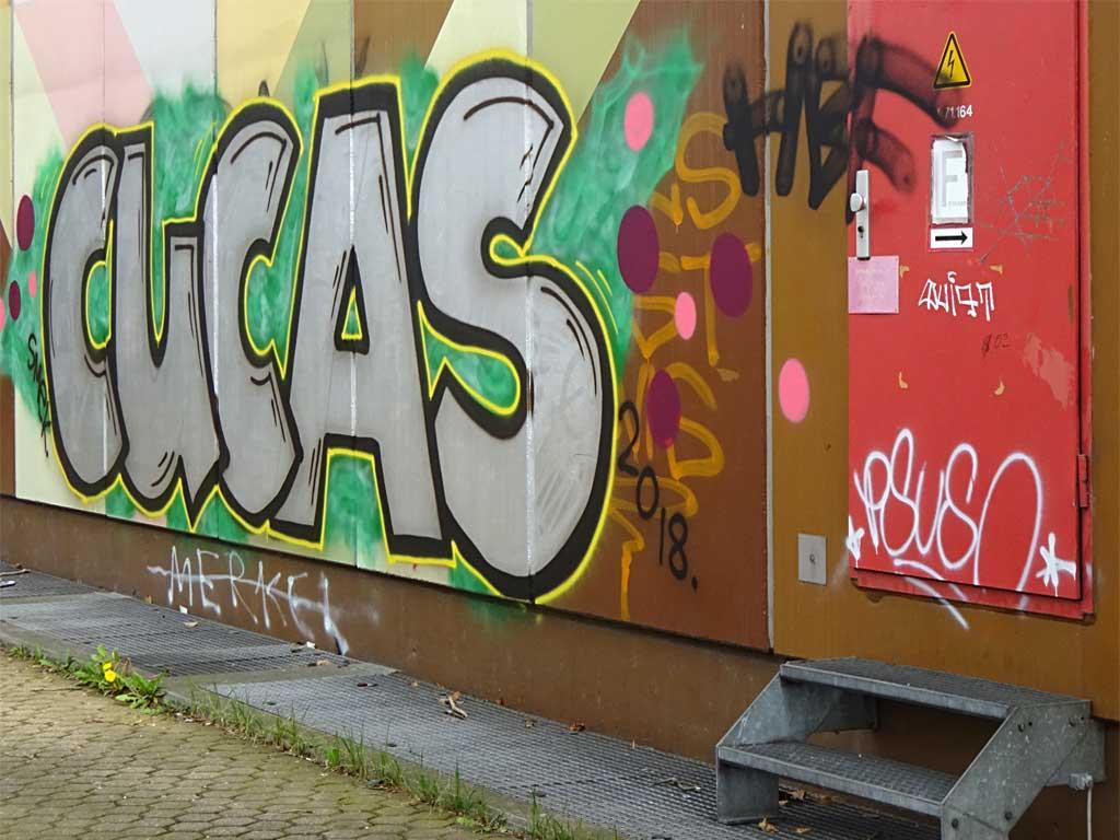 Urban Art in Frankfurt-Gutleutviertel