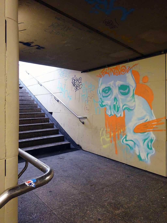 Urban Art Frankfurt - Januar 2019