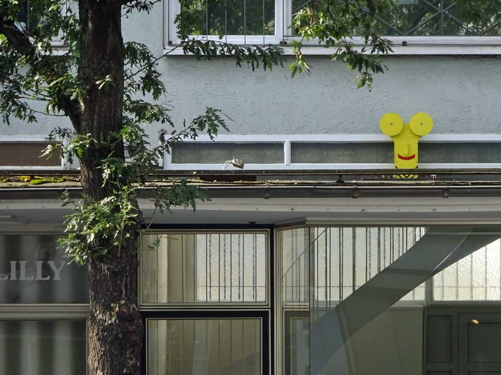 Streetart-Objekt in Frankfurt