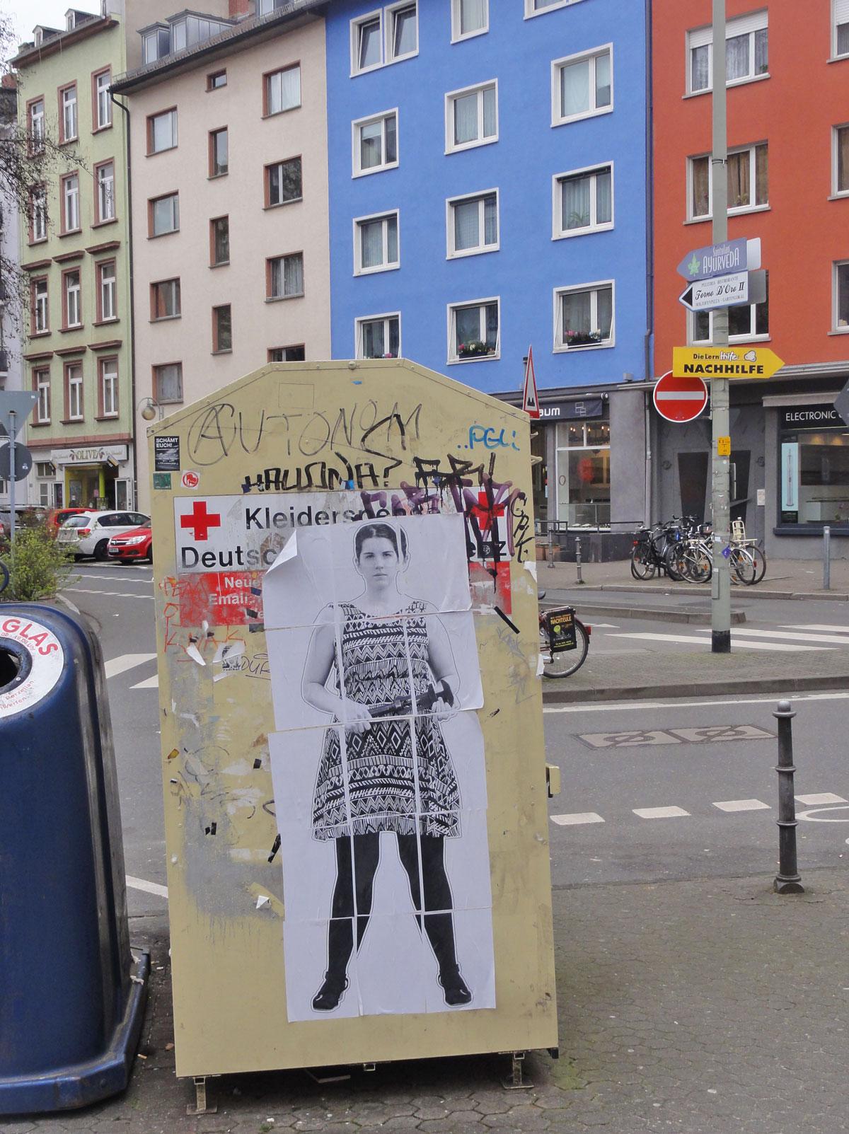 Feminismus - Urban Art in Frankfurt am Main