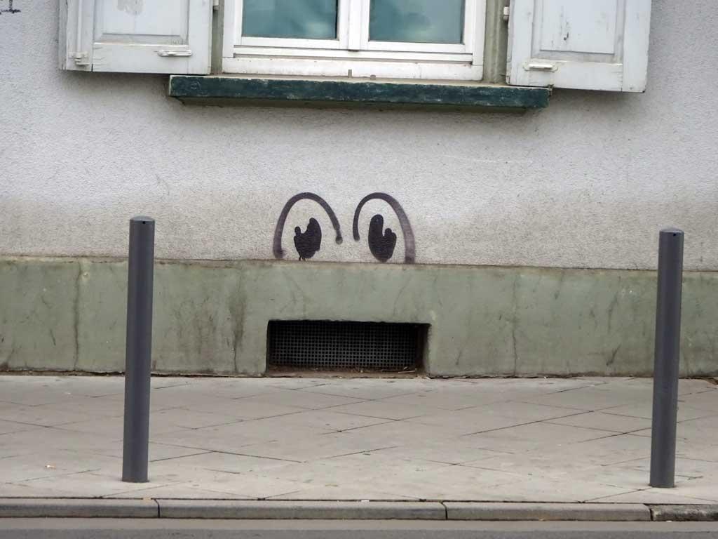 Urban Art Frankfurt - Augen