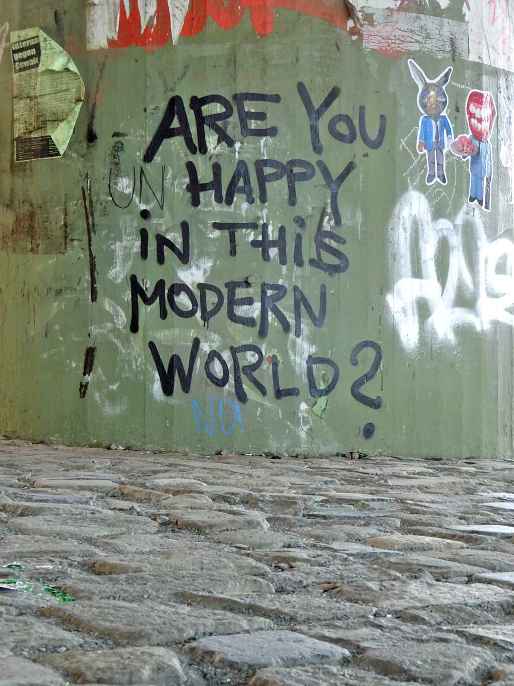 Are you happy in this modern world?