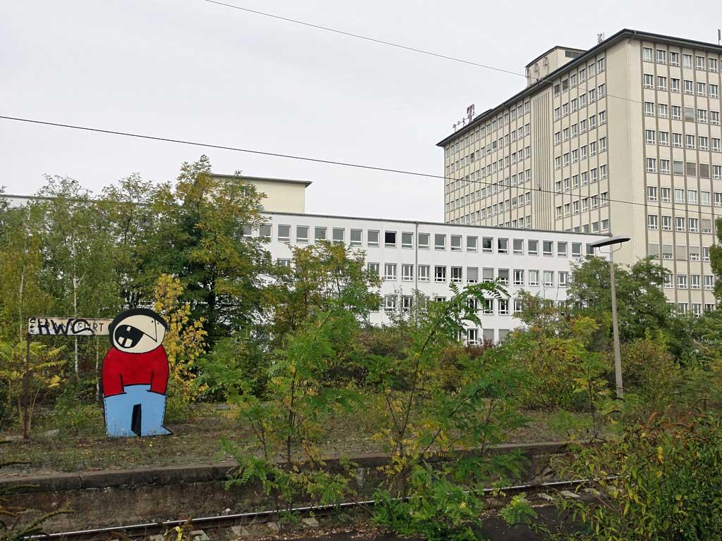 Street Art am Frankfurter Ostbahnhof