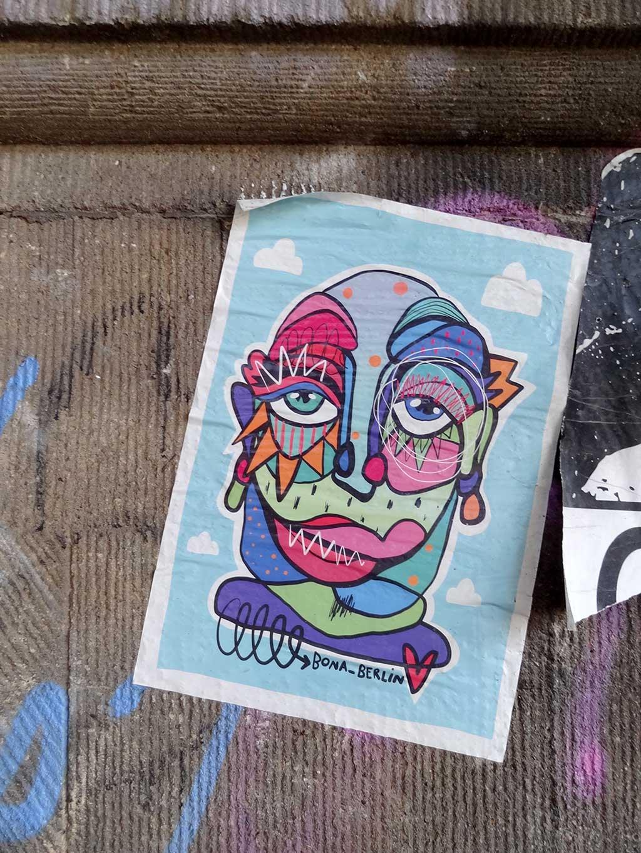 Urban Art in Frankfurt von Bona Berlin