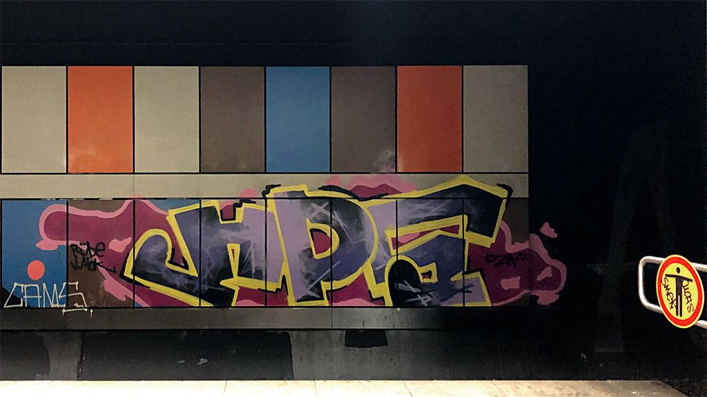 Urban Art Lokalbahnhof