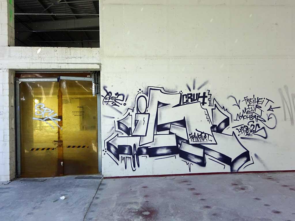 Urban Art beim Ost-Stern in Frankfurt