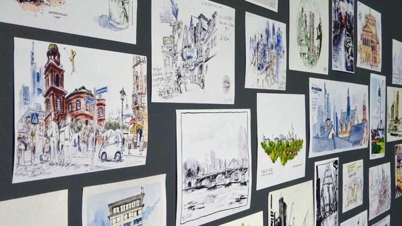 Urban Sketching Frankfurt