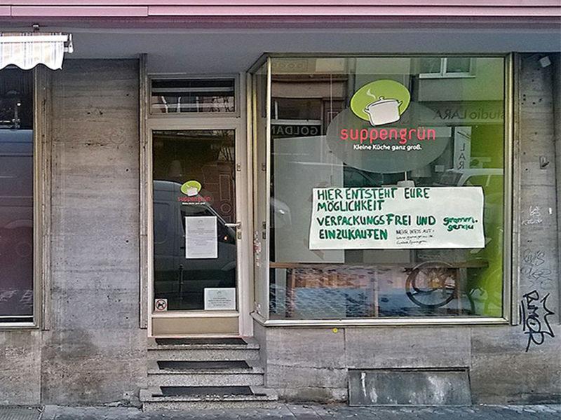 Grammgenau und verpackungsfrei einkaufen in Frankfurt