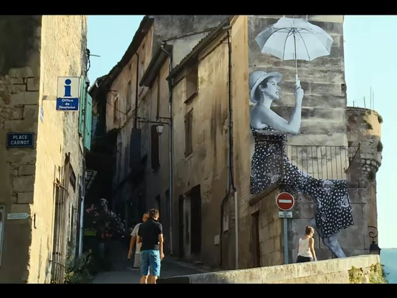 Visages, Villages - Film mit Streetartist JR