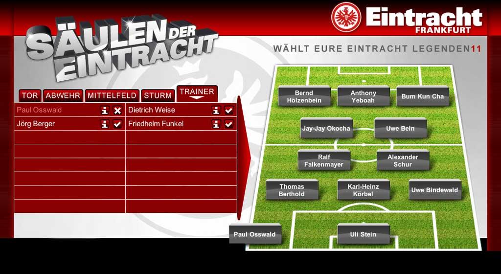 Säulen der Eintracht - Wählt euere Eintracht Legenden 11