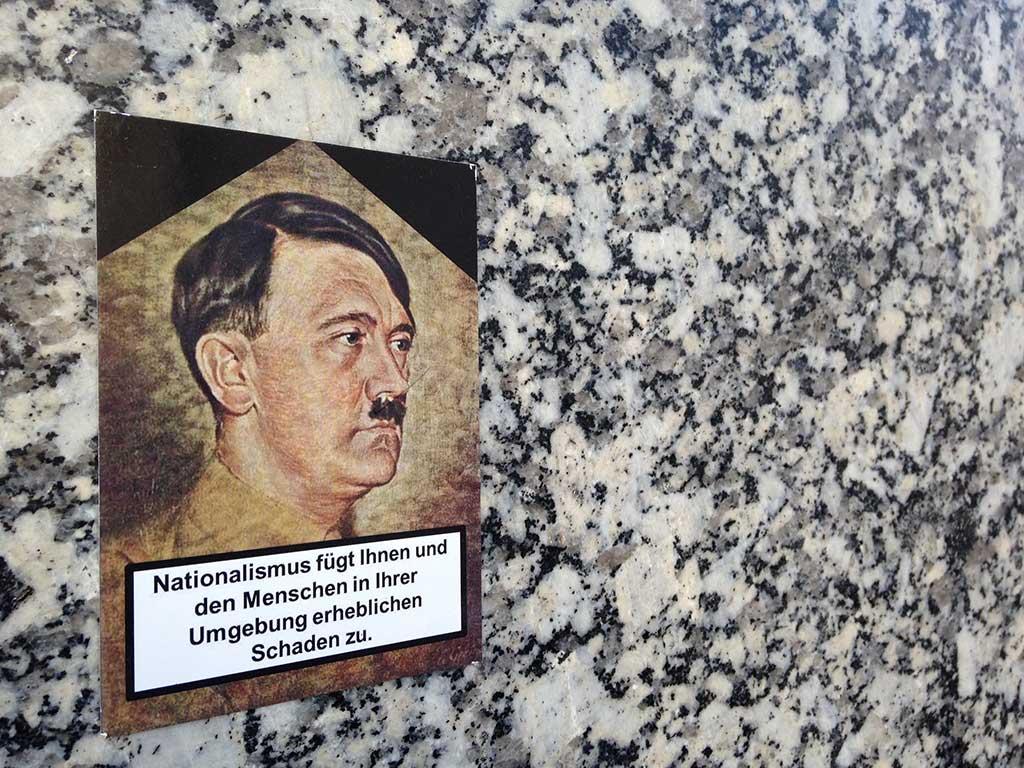 Nationalismus fügt Ihnen und den Menschen in ihrer Umgebung erheblichen Schaden zu