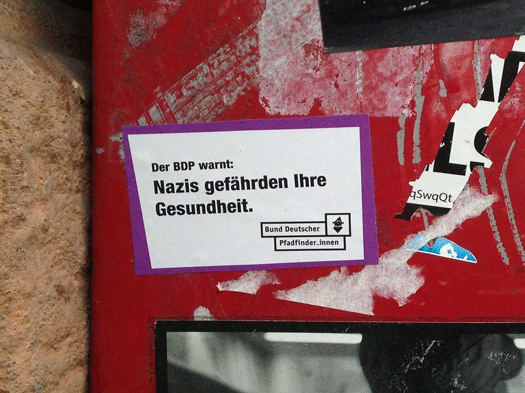 Nazis gefährden Ihre Gesundheit
