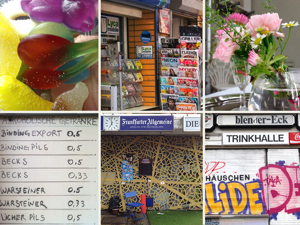 Wasserhäuschen, Trinkhallen und Kiosks in Frankfurt am Main