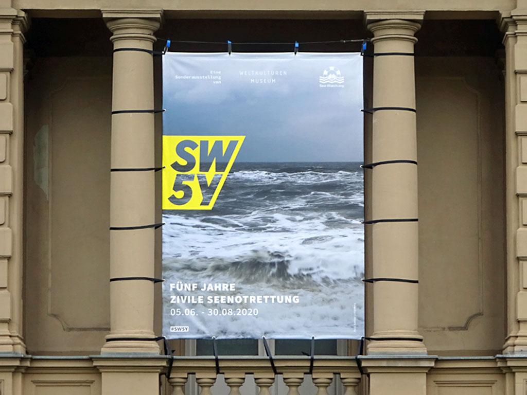 Fünf Jahre Zivile Seenotrettung - Sonderausstellung im Weltkulturen Museum