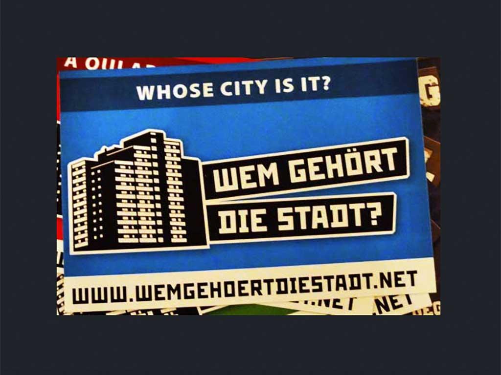 Aktionstag - Wem gehört die Stadt?