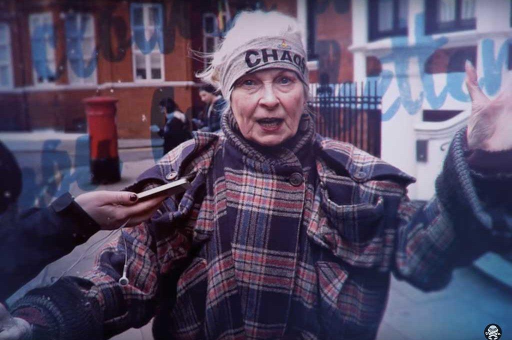 Szene aus dem Dokumentarfilm Westwood