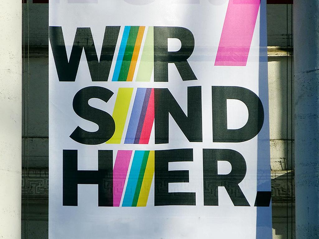 WIR SIDN HIER - Festival für kulturelle Diversität im Literaturhaus Frankfurt