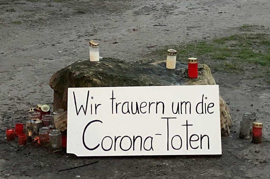 Wir trauern um die Corona-Toten