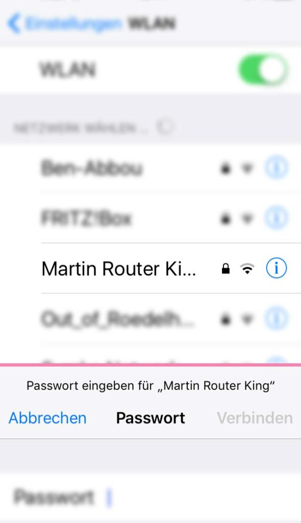 WLAN-Namen in Frankfurt - Martin Router King