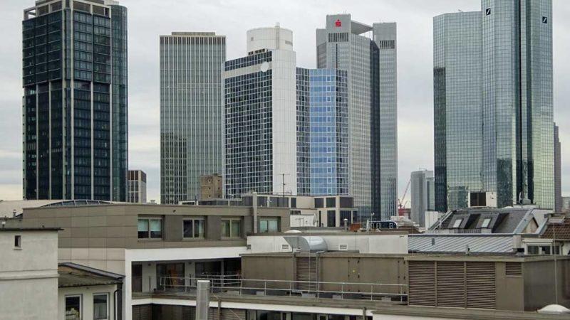 Wolkenkratzer in Frankfurt am Main