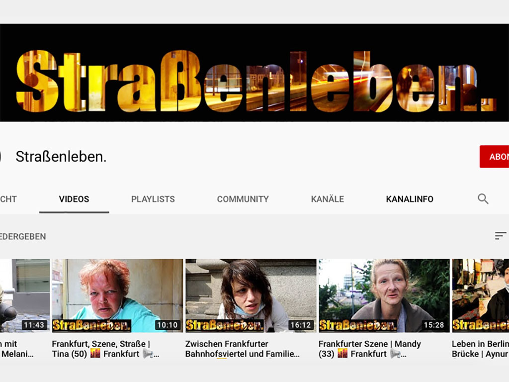 Straßenleben interviewt Süchtige aus dem Frankfurter Bahnhofsviertel